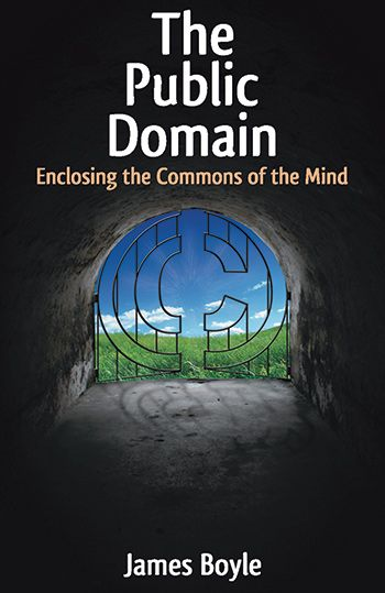 Cover of The Public Domain by James Boyle and link to purchase at Amazon.com