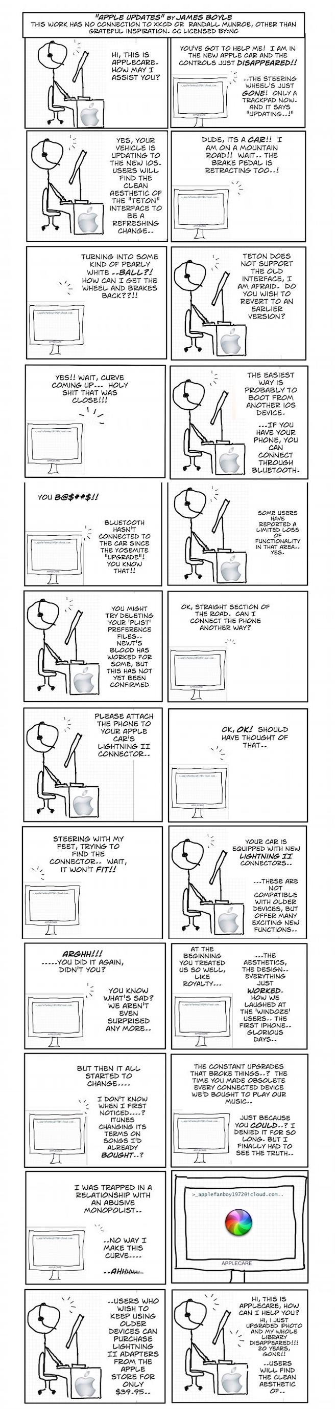 apple comic